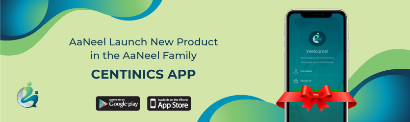 AaNeel launch new product Centinics App