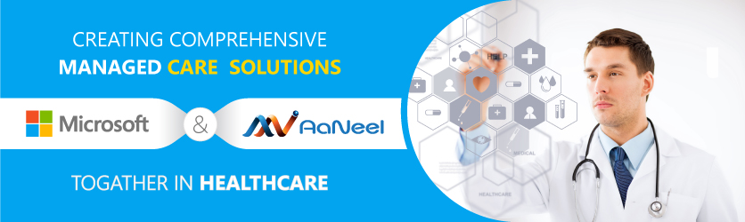 Microsoft recognizes AaNeel's significant role in managed healthcare software solutions